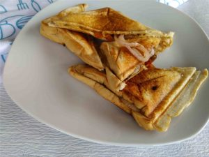 Toast Bread with Musroooms